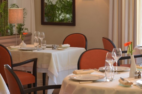 Exquisite dishes served in exclusive ambiance